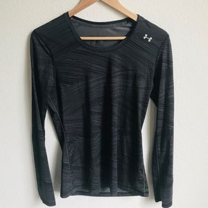 Under Armour long sleeve heat gear fitted small